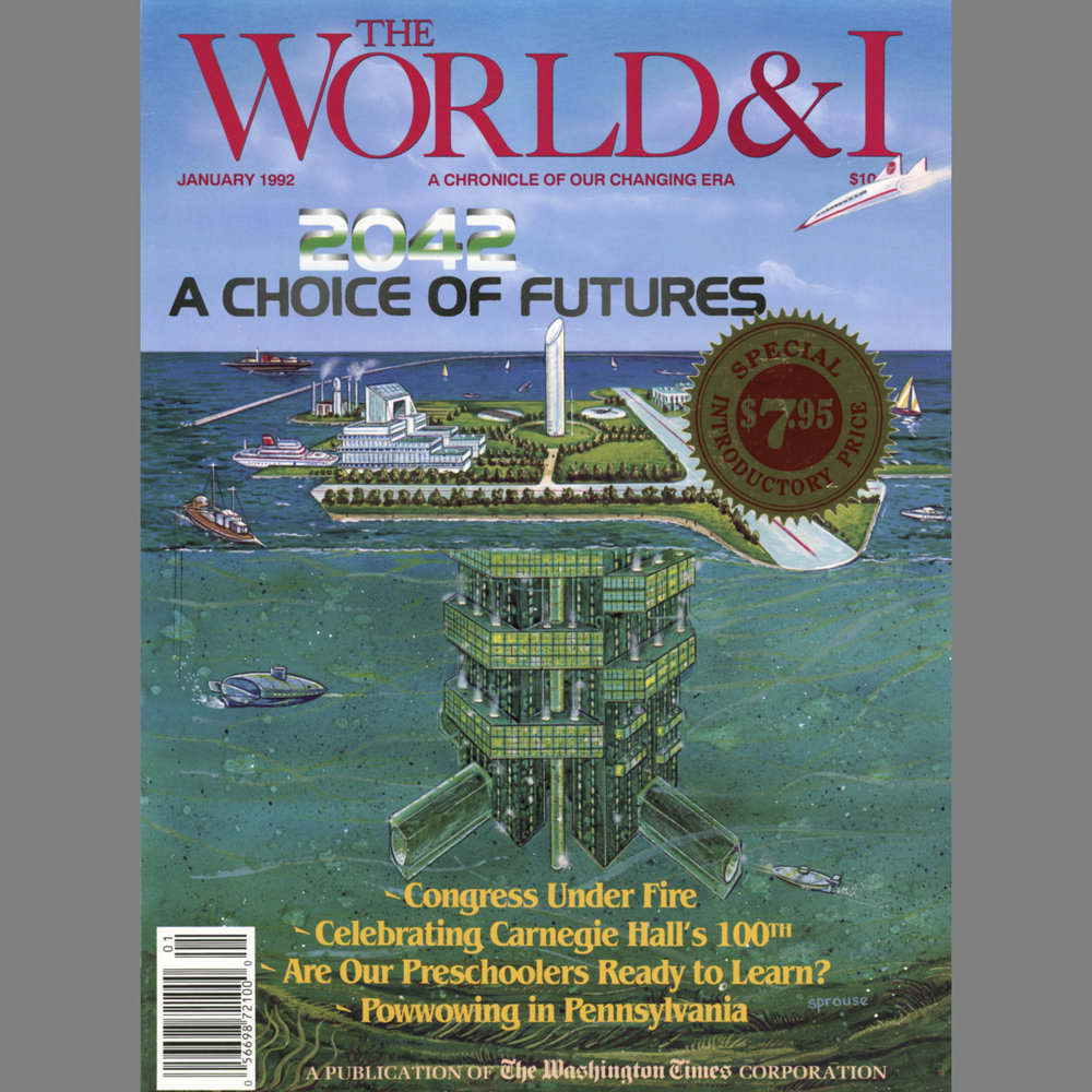 "Article in Politics, Science and Culture Magazine   The World & I,  ""All-Embracing Camera"", by Larry Thall, Vol. 7, No. 1, January 1992 Critical analysis of the artist's work, including her panoramic images"