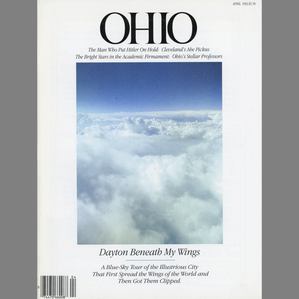 Image Published in Regional Magazine   Ohio,  April 1992 Image accompanying an article about the relationship to the Wright Brothers to their hometown of Dayton, Ohio