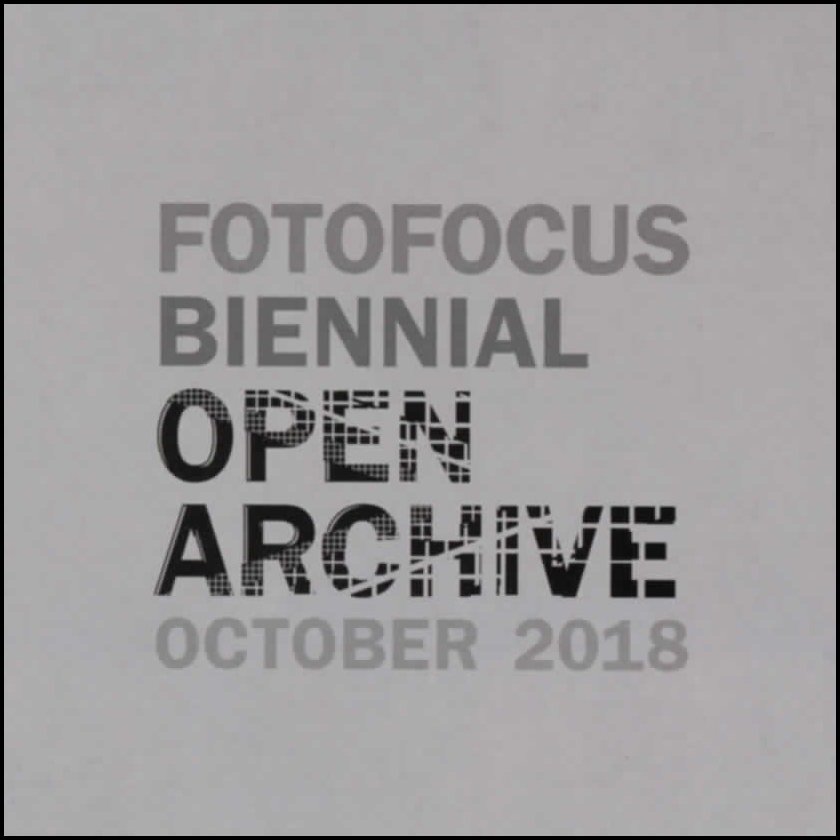 Group Exhibition in Fotofocus 2018   ARCHIVE [negative],  Manifest Drawing Center, Cincinnati, OH, October 13-28, 2018 The artist's work was chosen for this 2018 Fotofocus exhibition. Curator Michael Wilson collaborated with a dozen regional and nationally-known photographers on printing one black & white negative from their archives.