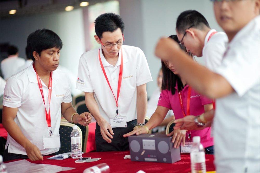 indoor team building programmes and games