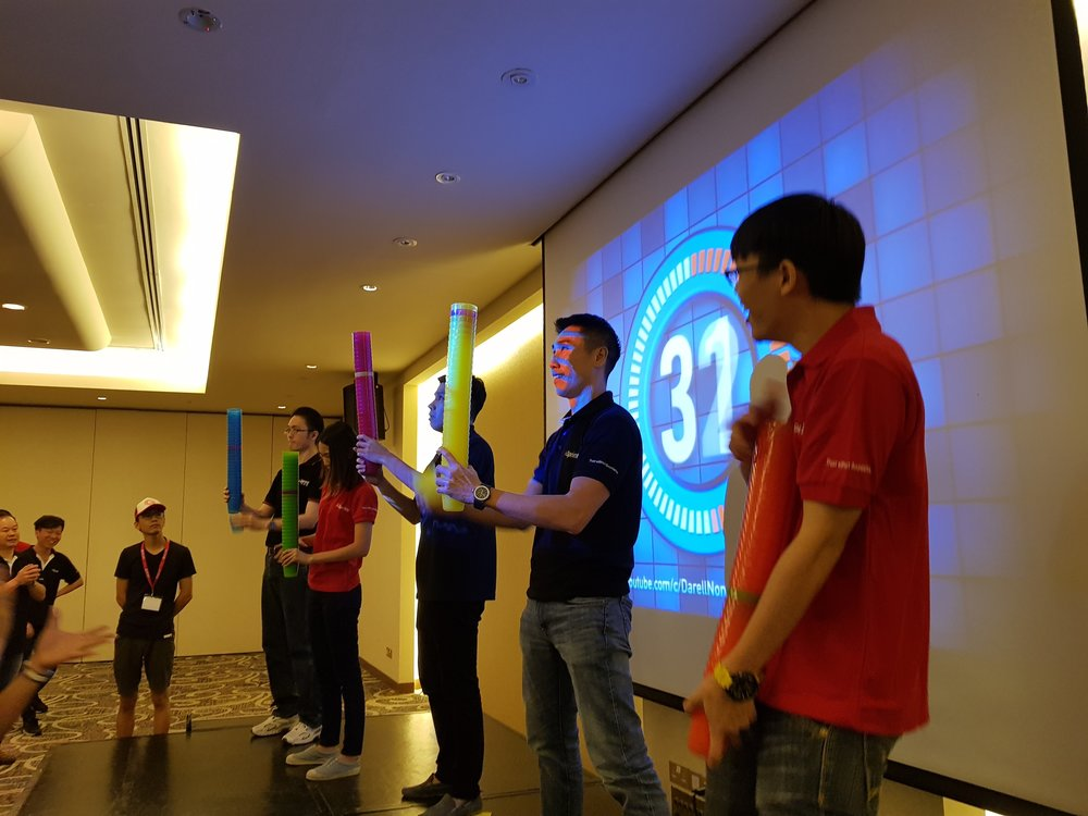 In It To Win It - The In It To Win It program is one of Get Out's original and most popular corporate team building events based on the popular TV show – Minute to Win It!