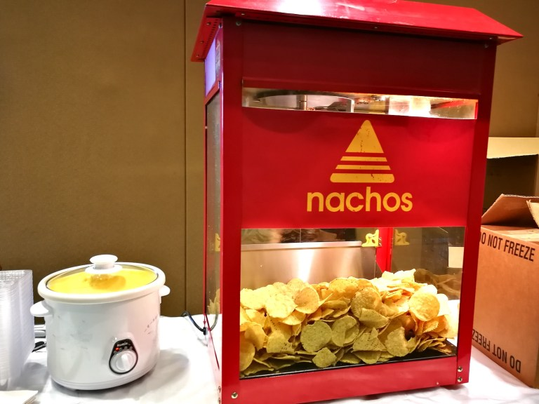 NACHO CHEESE CHIPS LIVE STATION - Our new nachos cheese chips live station have received great feedbacks from many events in Singapore! Our supplies are exactly the same as the one you get from GV Cinema.