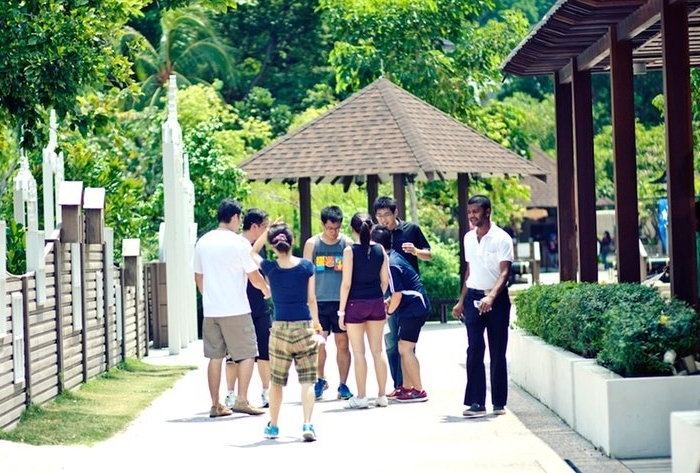 Hidden Fortress - Race around the most iconic and historical spots in Sentosa to reminiscence the