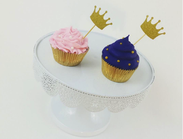 Prince Princess Cupcakes Melrose Cake Company