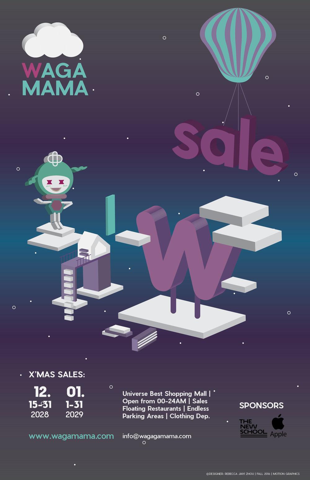 WAGAMAMA_Shoppingmall_Poster