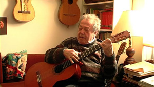Eli Kassner, Classical Guitarist - A holocaust survivor, Eli Kassner left his native Austria at the age of fifteen. Although Mr. Kassner began working in a music store shortly after arriving in Canada at the age of twenty-seven, he eventually transformed the study of classical guitar in Canada. After founding the Guitar Society of Toronto, he accepted an offer from Andres Segovia to study with him. Mr. Kassner began teaching guitar at the University of Toronto Faculty of Music in 1959 and was its lone instructor for 19 years. Some of his students include Liona Boyd and Norbert Kraft, among others. In addition to the guitar, he is an accomplished award-winning cinemicrographer, creating 5 films for the CBC, appearing in The Nature of Things and other shows. He is also an accomplished painter. He lives in Toronto with his wife, Ann Kassner.