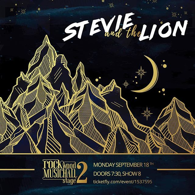 Stevie and the Lion at @rockwoodmusichall Stage 2, Monday Sept. 18th at 8pm.  We're playing with a full band, in a giant, beautiful room and we want you to help us fill with with love and good vibes... or at least attractive people! Whatever!! We need you, we want you, we must have you... pack this room out! For more details go to www.facebook.com/StevieandtheLion #stevieandthelion #satl #rockwoodmusichall #music #LES #lowereastsidenyc