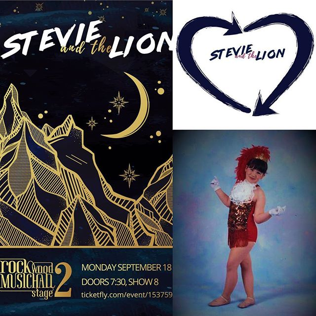 MONDAY 9/18... Stevie and the Lion plays Rockwood Stage 2. More importantly, we are also celebrating Kate Branagh's 35th Birthday.  I know... her face DOES look amazing. Maybe you some come to the show and tell her yourself.  She would probably like that. 💋💋 #stevieandthelion #rockwoodmusichallstage2 #letspackthisplace