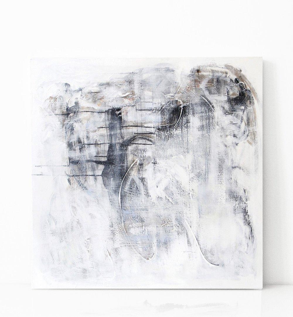 hetki | 010  2015 acrylic on canvas 90 x 90 cm | SOLD