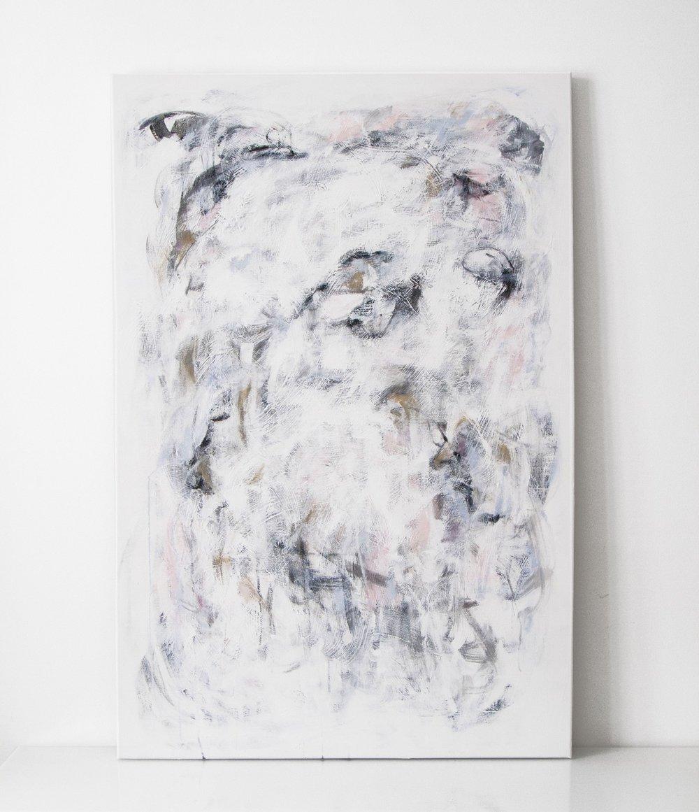 NIITTY | 019  2016 acrylic on canvas 150 x 100 cm | SOLD