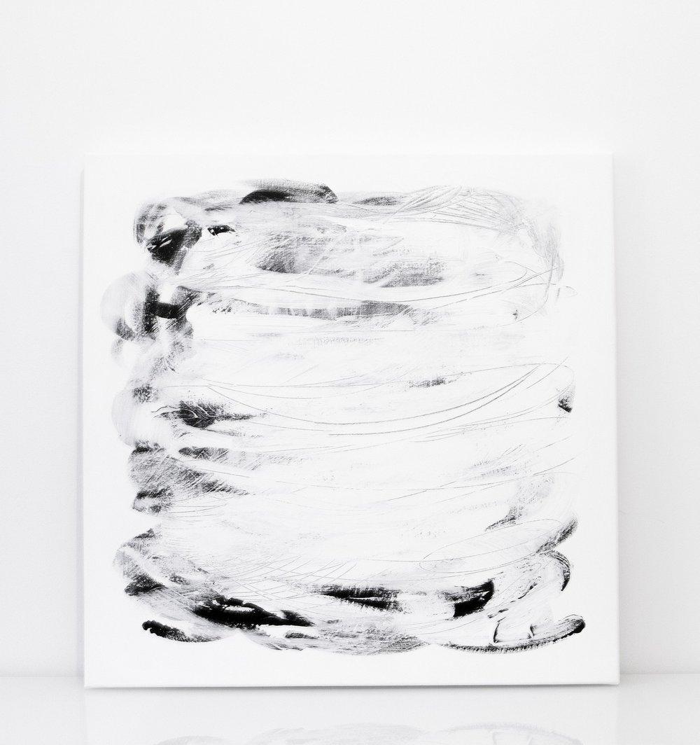 kuiskaus | 017  2015 acrylic on canvas 90 x 90 cm | SOLD
