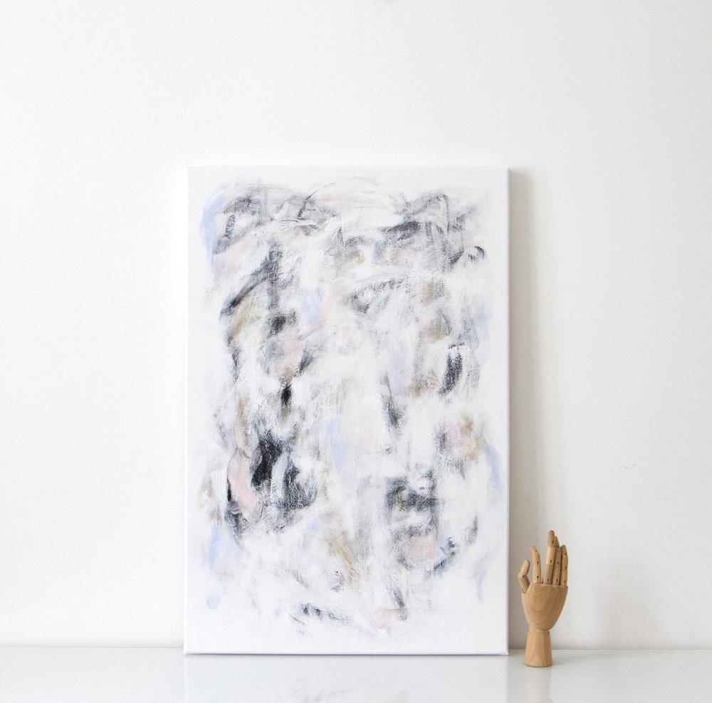 aamu | 021  2016 acrylic on canvas 60 x 90 cm | SOLD