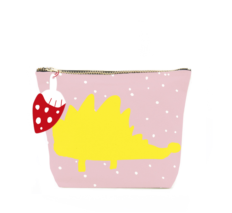 ISLET hedgehog,  make-up bag, yellow
