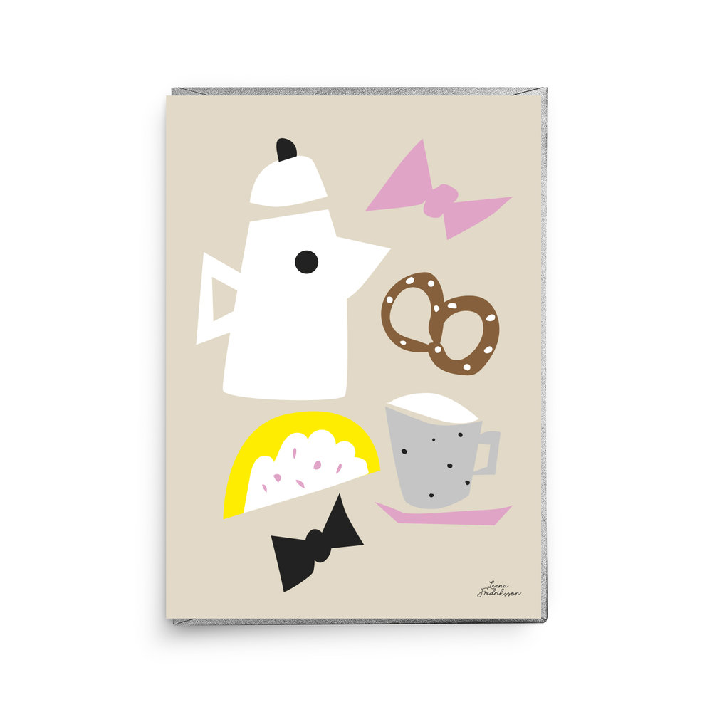 KOTI breakfast,  greeting card