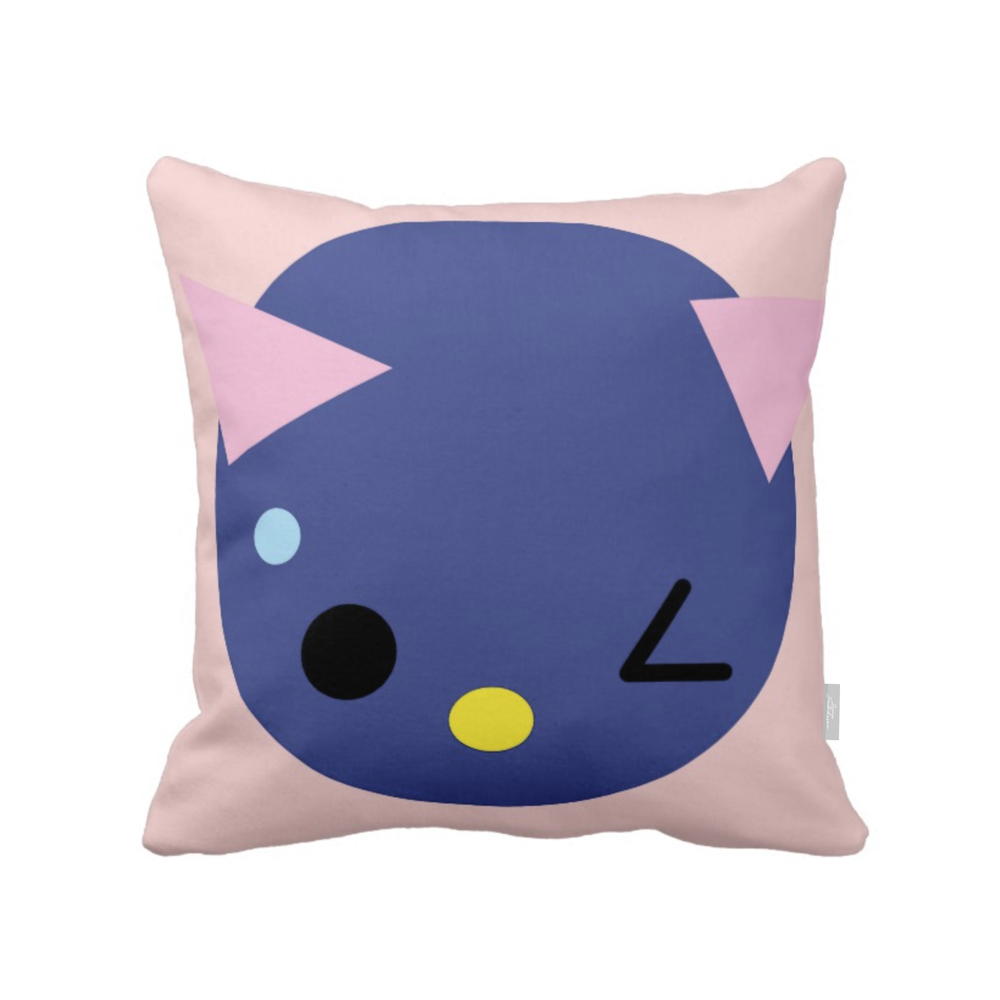 SUPERCUTE pillow,  blueberry