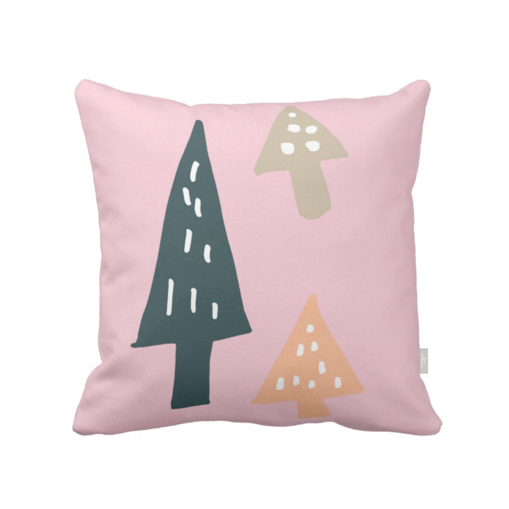 ISLET trees,  pillow, pink
