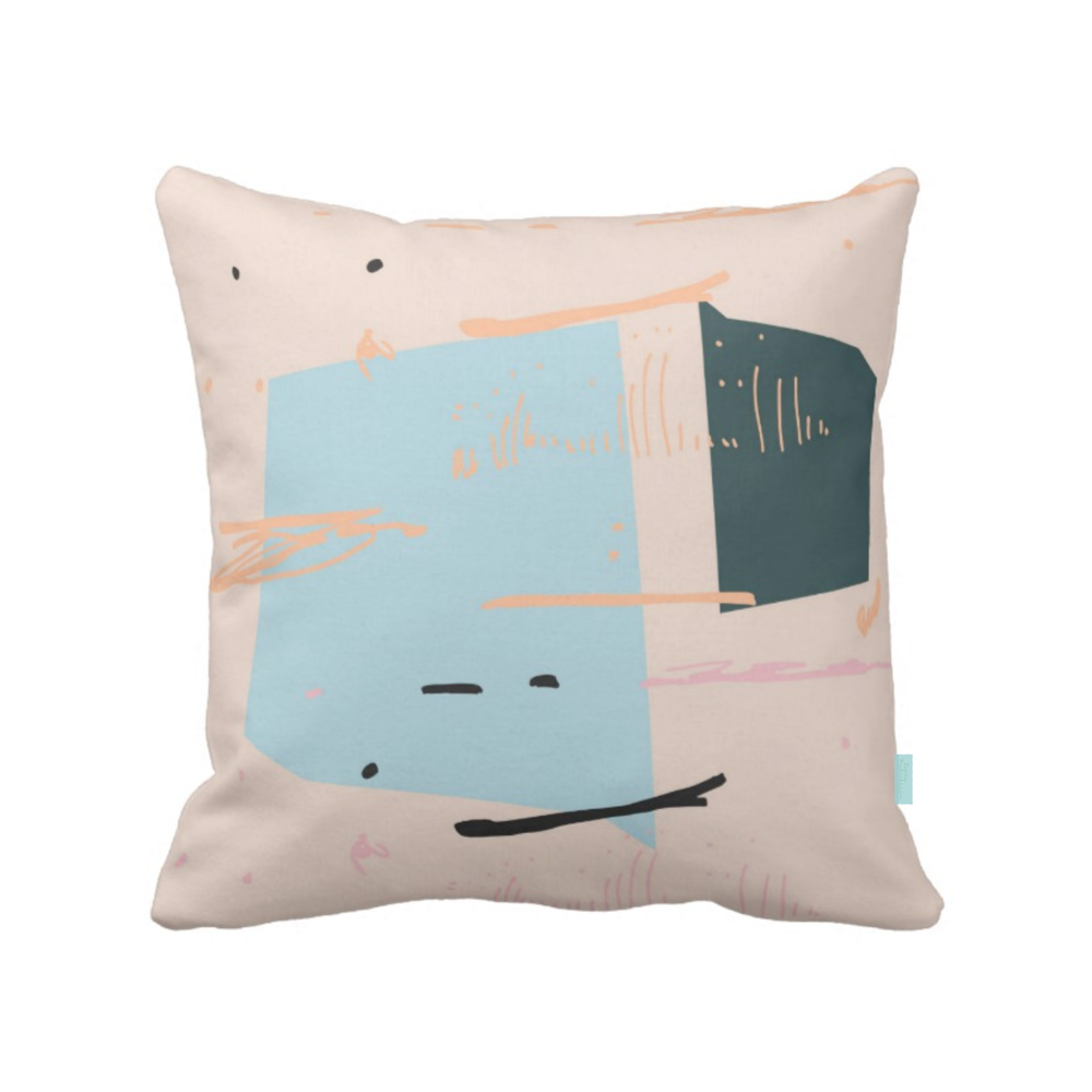 ISLET pond,  pillow, beige