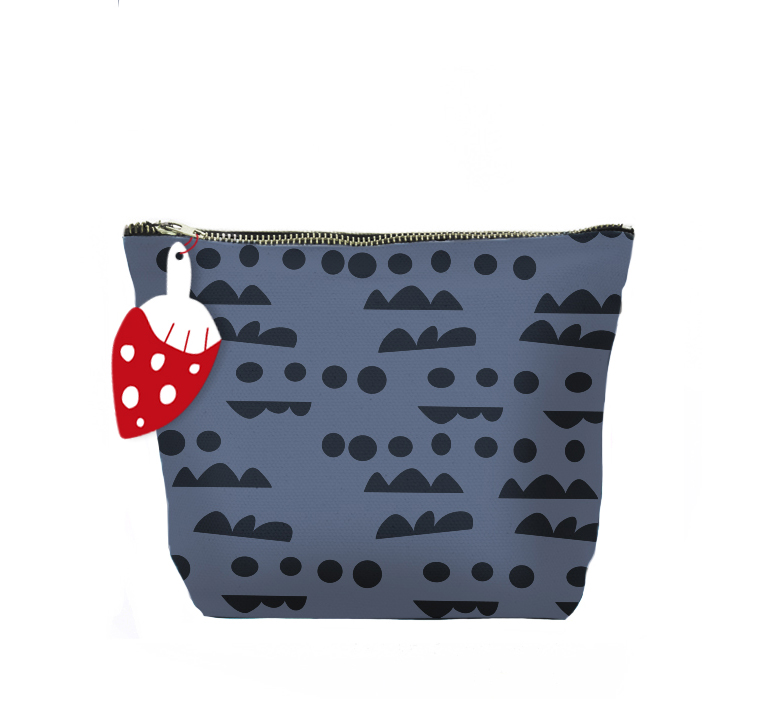 ISLET horizon,  make-up bag, blue