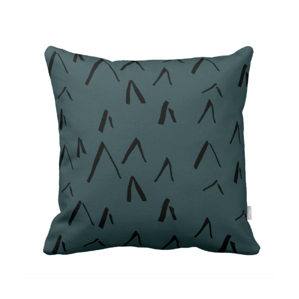 KOTI aamu,  pillow, pine
