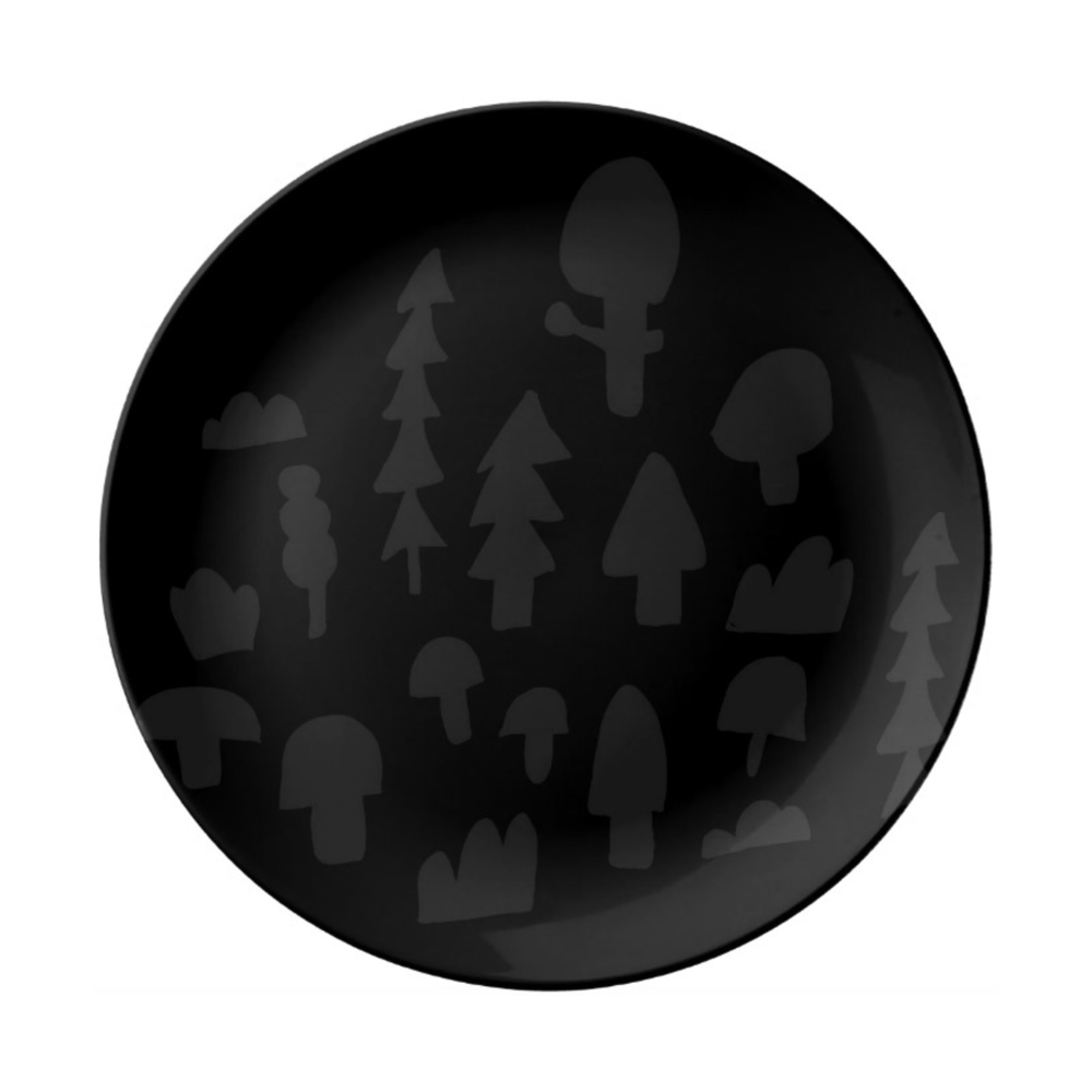 ISLET trees,  tray, black