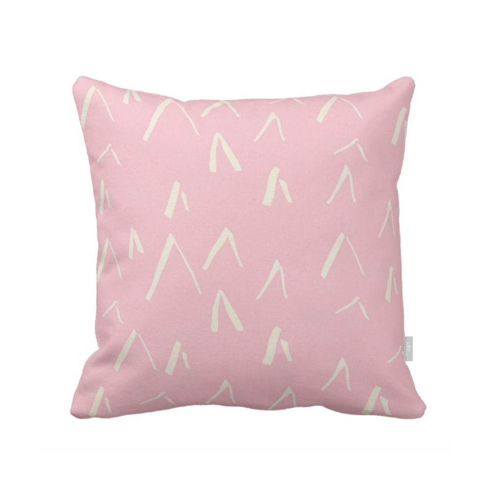 KOTI aamu,  pillow, pink 2