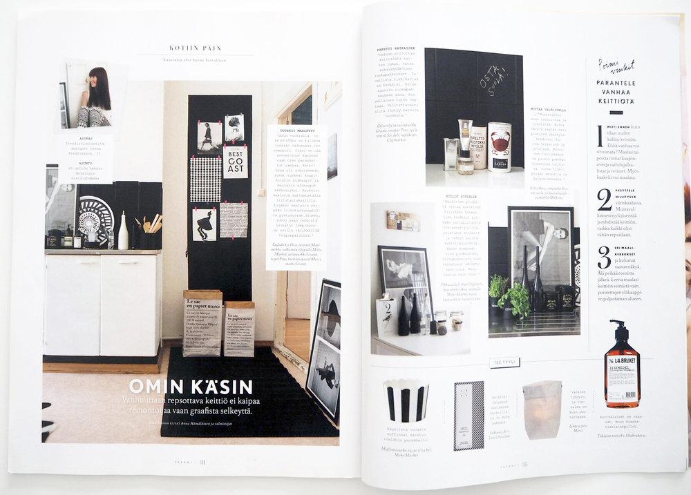 TRENDI Magazine, 09 / 2013 Photos: Anna Riikonen, text: Liisa Jokinen