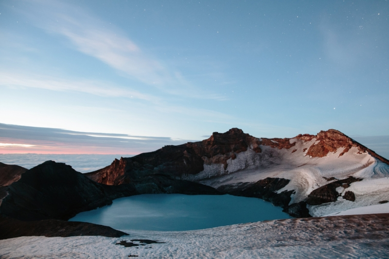 Mount Ruapehu Crater Lake Sunrise.jpg