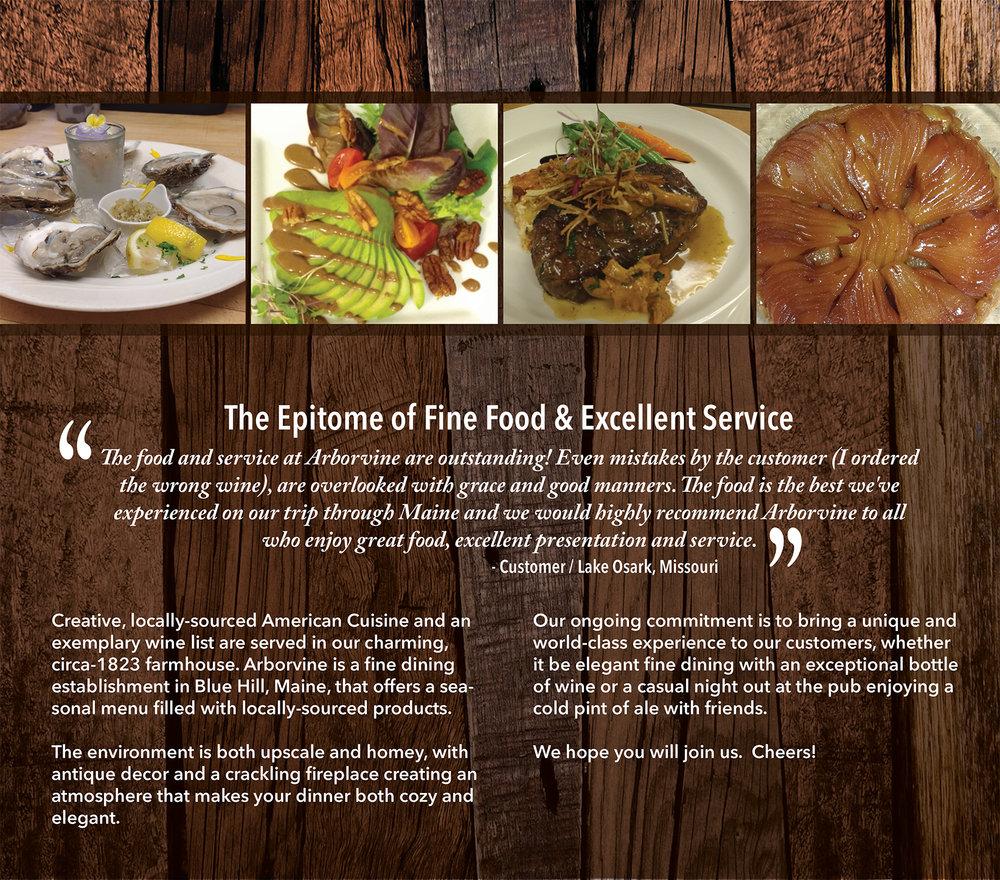 arborvine restaurant