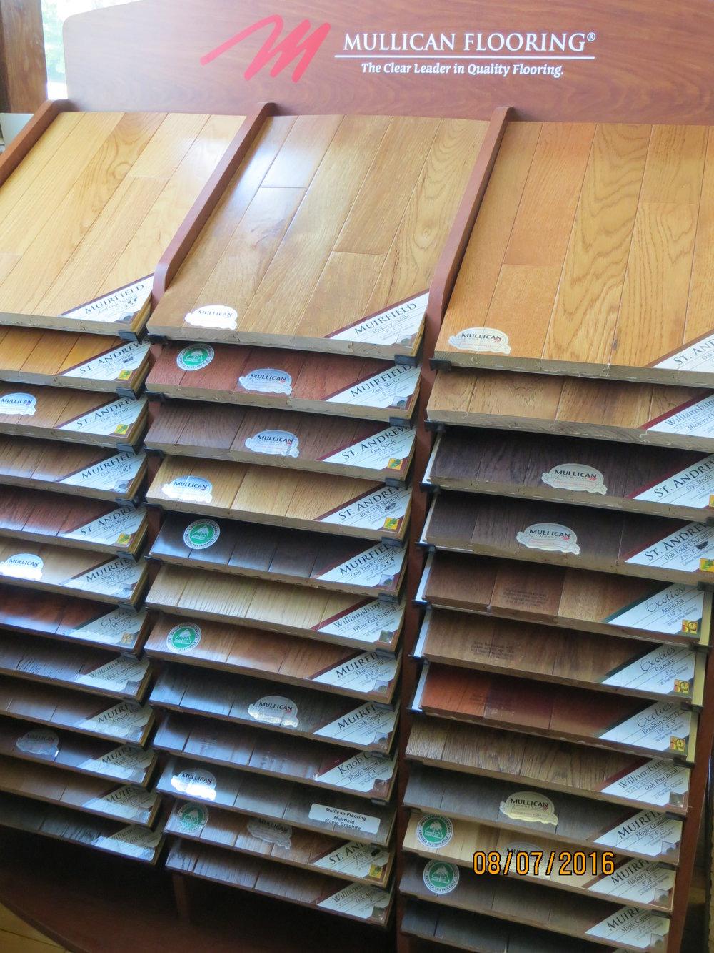Flooring - Quick StepCogoleum DuraCeramicFlorida TileAmerican Concept LaminateMullican HardwoodCongoleum Air StepCarolina Home Carpet