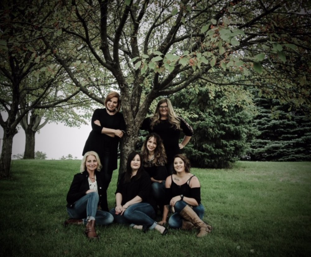 Back row- Beth, Kali Front row- Melissa, Amanda, Angela, Tricia