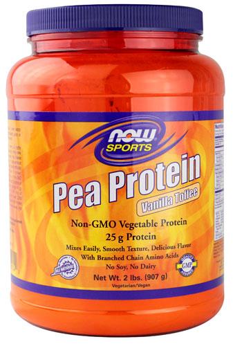 Vanilla Toffee Pea Protein