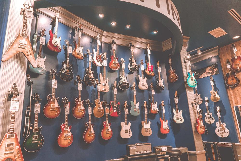 Music Shops -