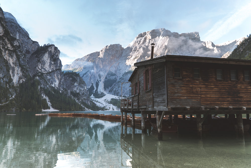 Lago di braies - The Pragser Wildsee, South Tyrol
