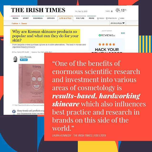"If you're new to K-Beauty, this article in last weekend's Irish Times by @laura_m_kennedy is a great place to start - ""The focus in Japan and South Korea is skincare; makeup takes a back seat in cultures where perfect skin is idolised, and is generally used to enhance skin rather than to distract from it."" Damsel.ie stocks a huge range of skincare products imported directly from South Korea and we are delighted to answer any questions you may have on what product may be most suitable for your skin.  #kbeauty #skincare #koreanbeauty #mizon #manyofactory #irishbeautybloggers #skincareireland #skincaretips #instaskincare"