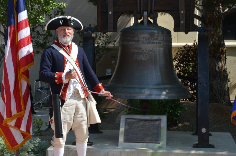 July 2018, Liberty Bell Ringing