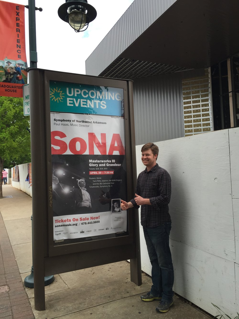 Nice add for SoNA in Fayetteville.