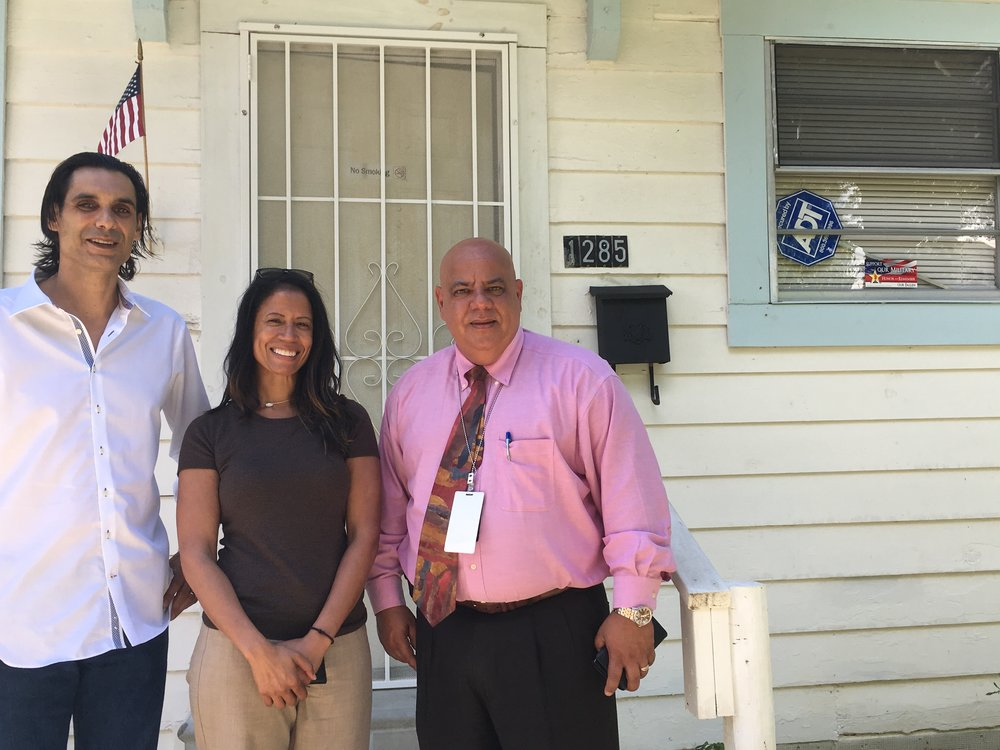 VA endorses YAO - Mr. Paulino, Veterans Administration HCHV Director completed site visit to YAO housing complex.