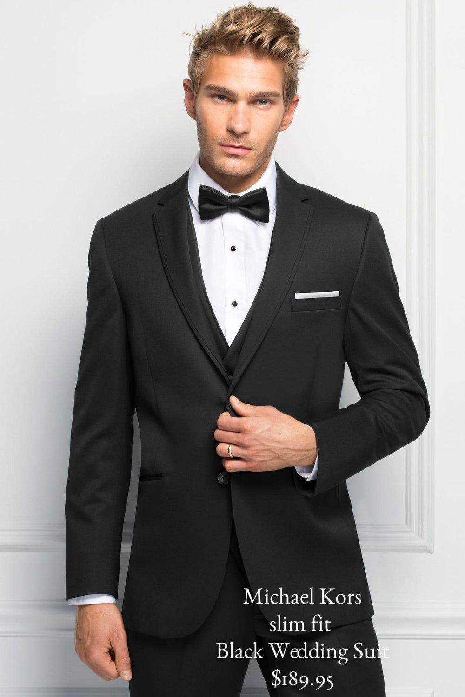 Michael Kors Black Suit $189.95
