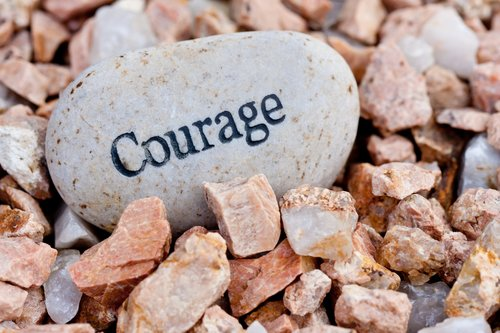 MY COURAGE PRACTICE QUIZ - WHAT IS YOUR CURRENT RELATIONSHIP TO COURAGE?