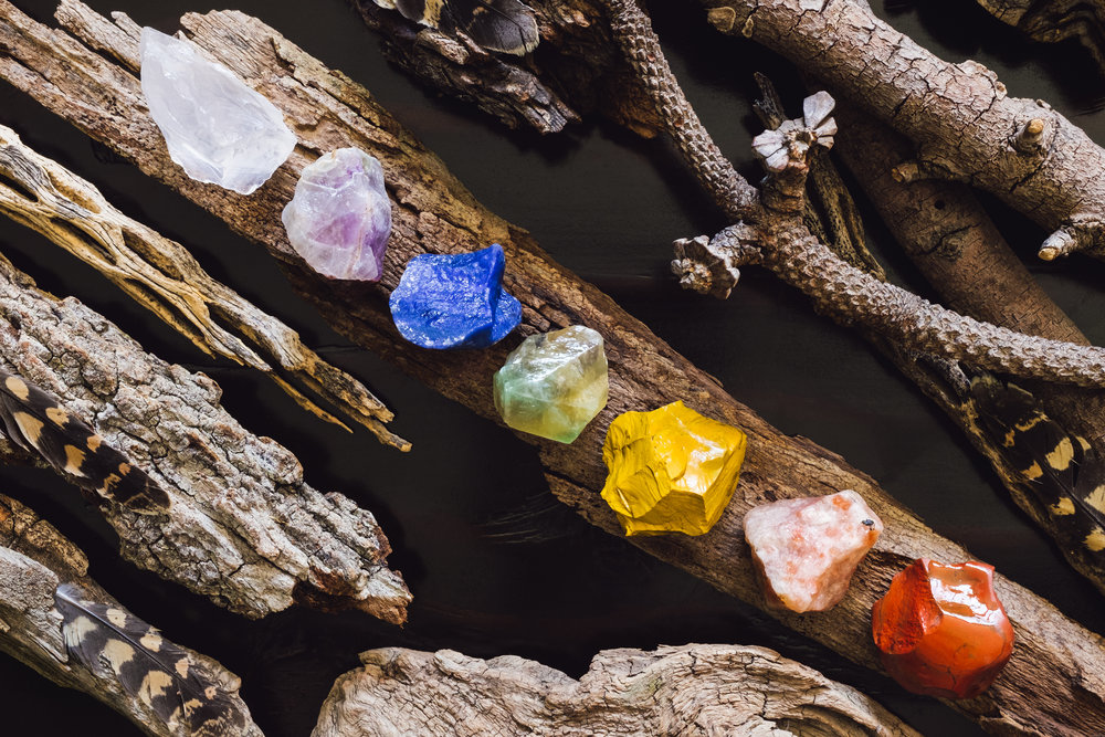 THE SEVEN NUDGES - INTUITIVE COACHING & ENERGY READING TO CULTIVATE COURAGE IN EACH OF OUR CHAKRA ENERGY CENTERS