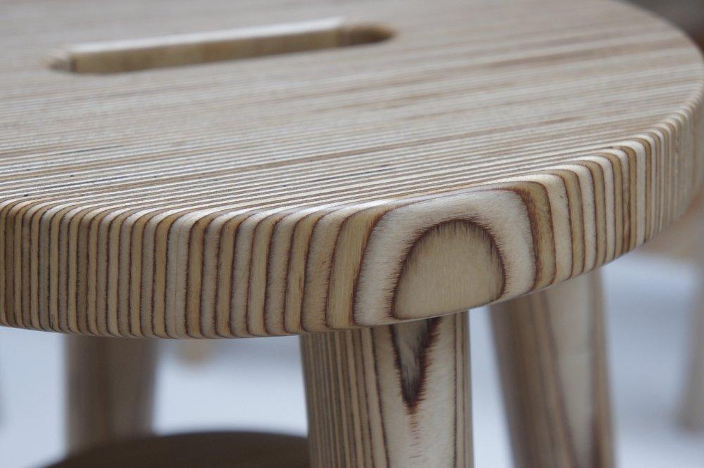 Stripy stools