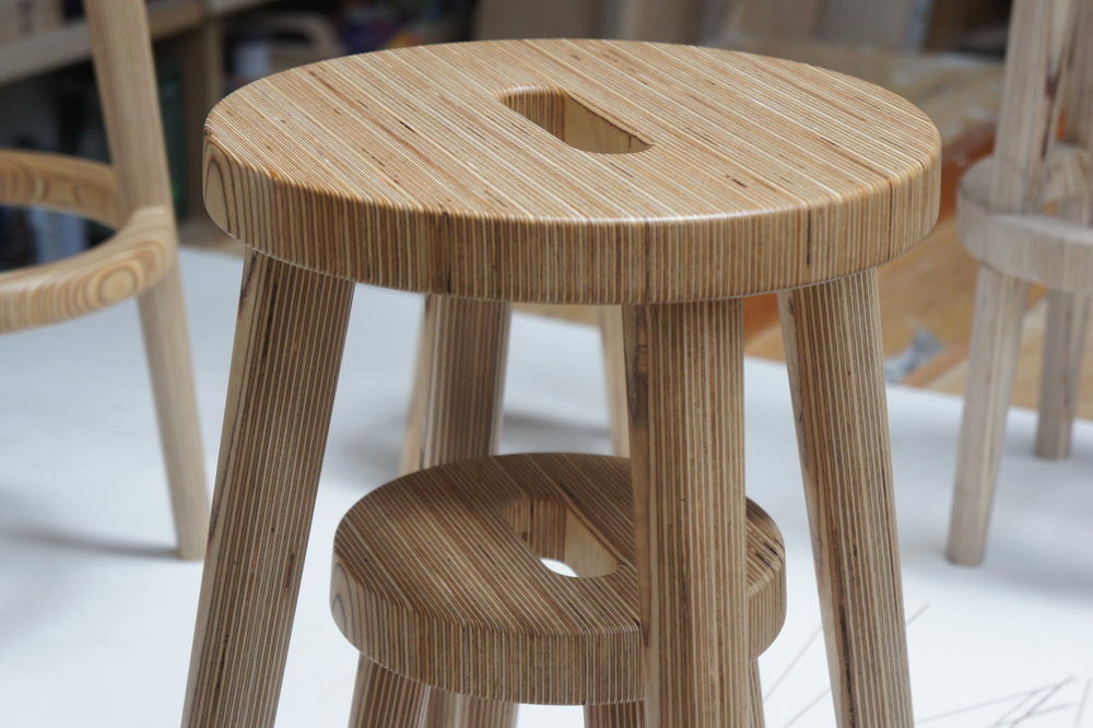 Family of Stools - Middle stool