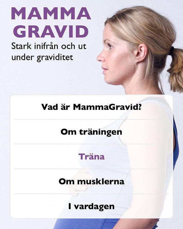 """Mammamage appen har sedan ett tag tillbaka varit en motivation för många nyblivna mammor att få den sk """"rehabträningen"""" efter förlossningen att bli av. Den som är så himla viktig! (Men kanske inte så rolig...) 🙈 Som även utbildad mammagravid-tränare vill jag tipsa om denna app till alla gravida där ute (med normal, frisk graviditet)! Övningar för bäckenbotten, inre magmuskulatur och diafragma (andning). Med samma syfte som mammage - att stärka kroppen inifrån och ut är detta program ett bra komplement till vanlig motion och skapar goda förutsättningar för att hitta tillbaka till en stark och stabil kropp efter förlossningen. 💪🏻✨ För vidare träningsrådgivning under eller efter graviditet finns lediga konsultations-/PT-tider att boka i både Ronneby och Karlskrona. #certmammamagetränare #gravidträning #mammagravid #magcentralen"""