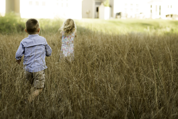 there is something so timeless about kids running through a field. their spirits are so true.