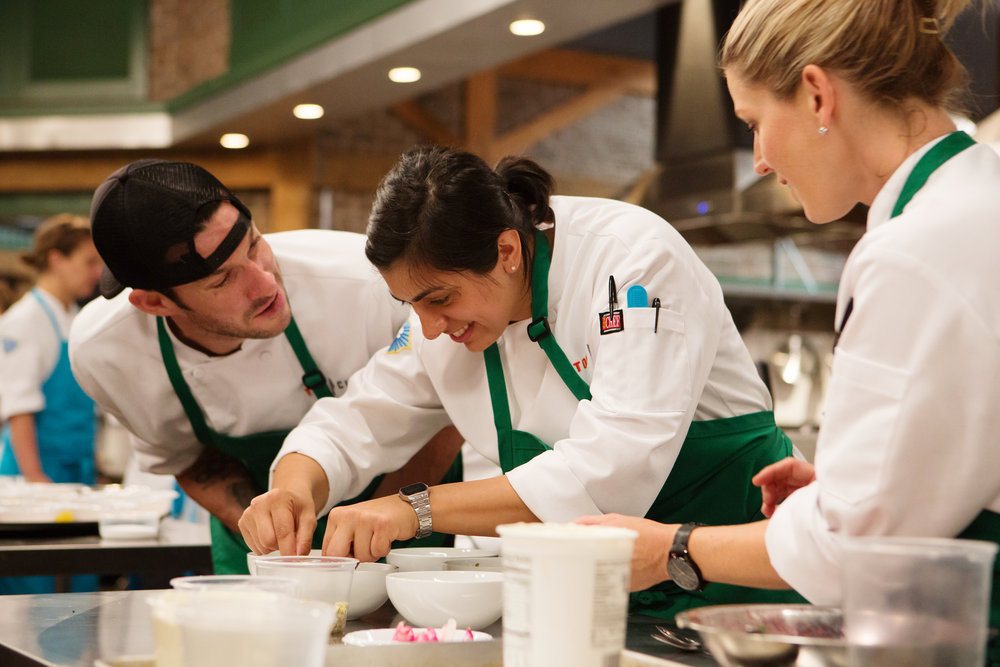 CHEF SILVIA BARBAN on Season 14 of TOP CHEF