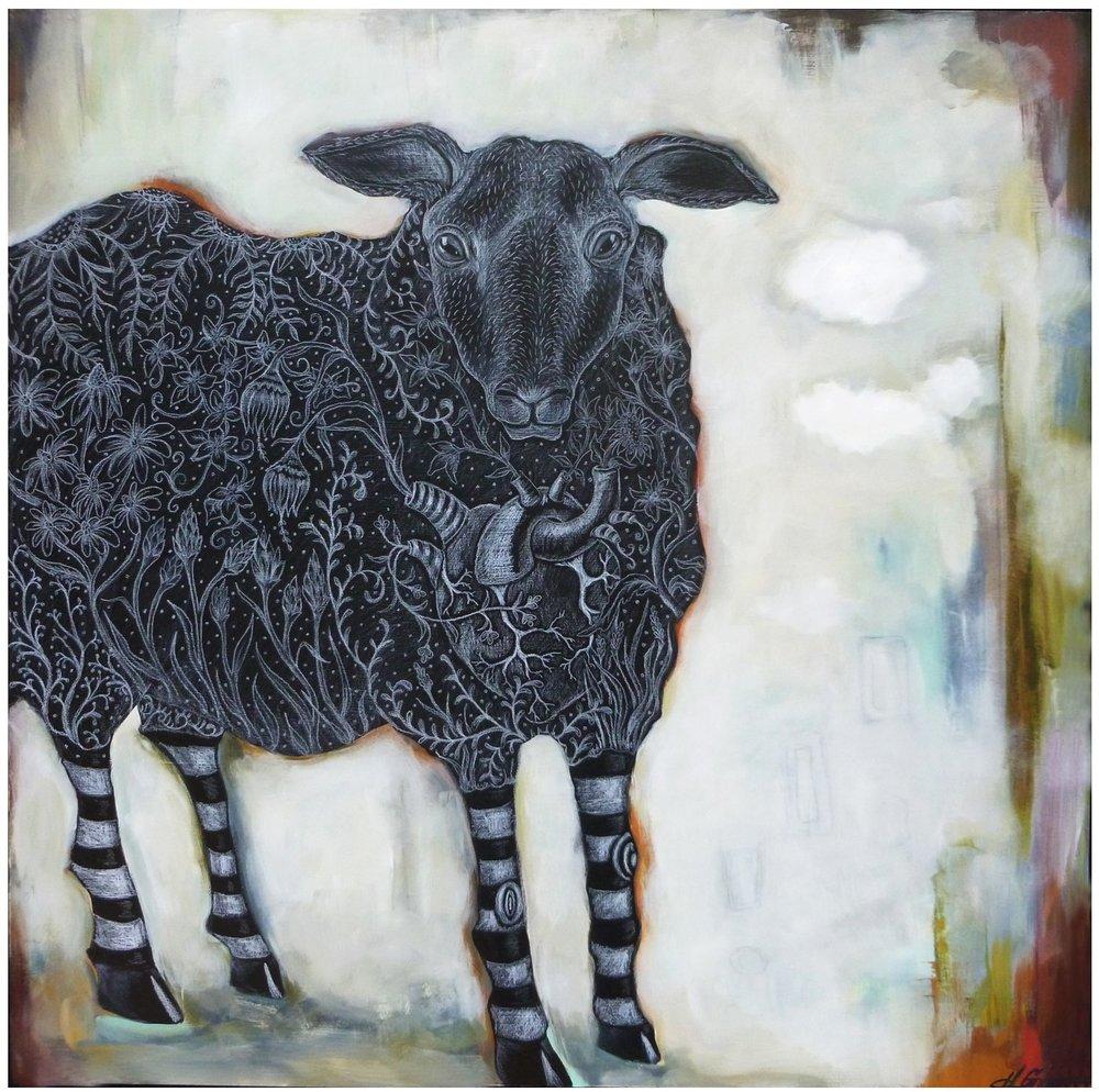 LA OVEJA EN FLOR (THE SHEEP IN BLOOM)