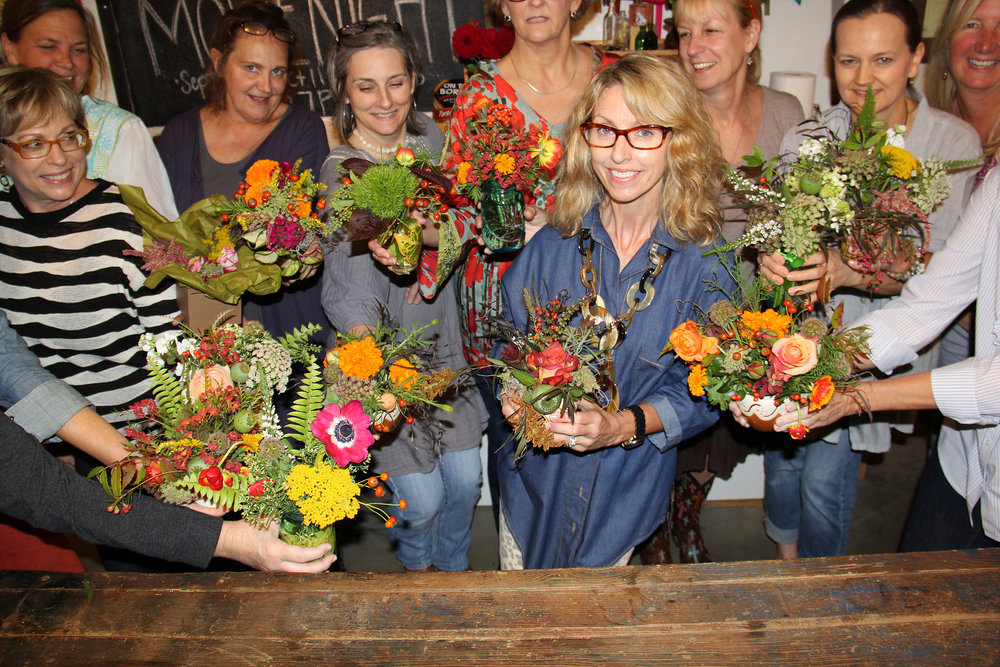 ladies night out fresh floral arrangement class.jpg