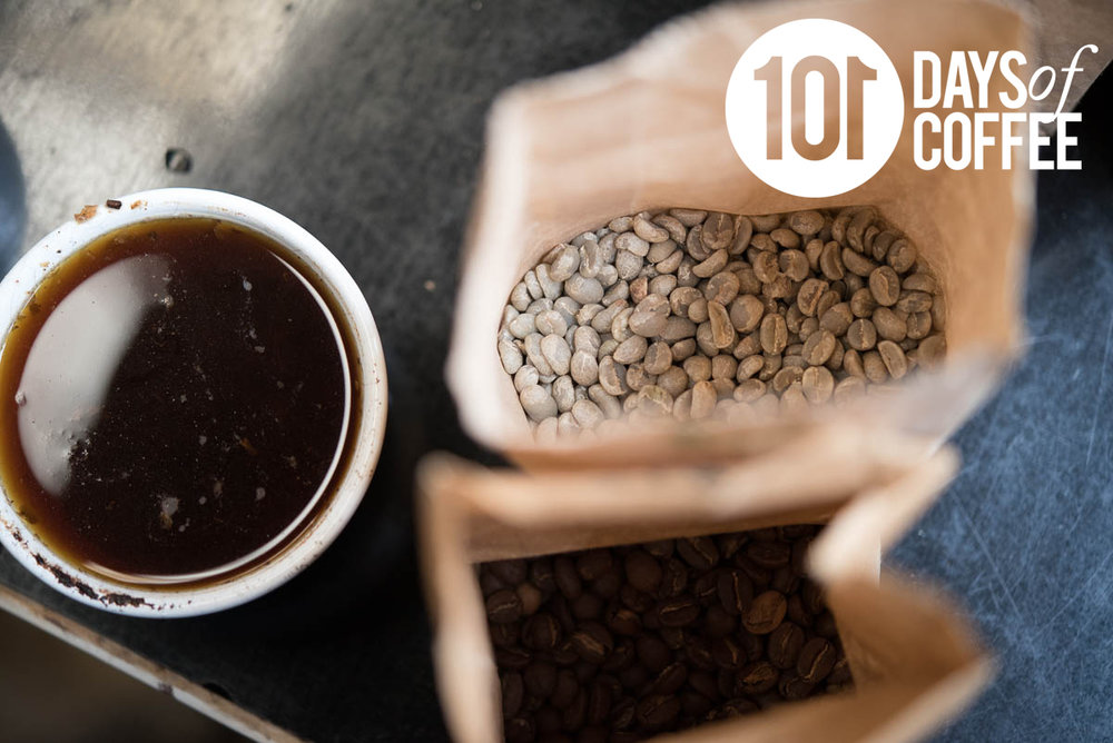 101 days of coffee inspired blog -