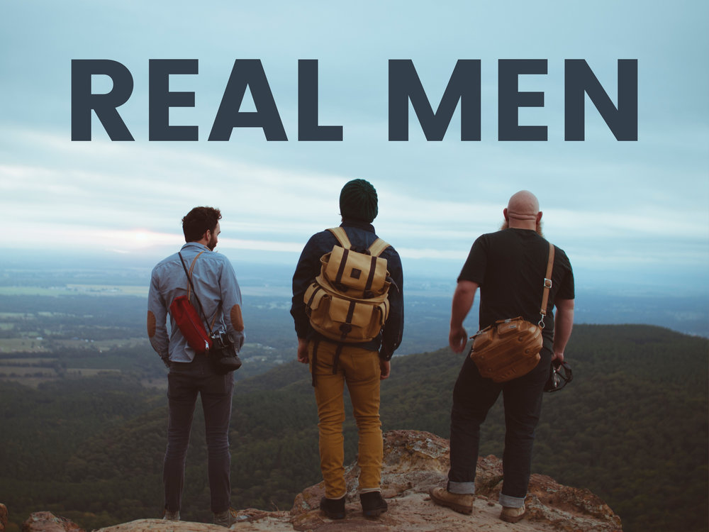 4/8 Real Men serve  Matthew 20:20-28       4/15 Real men need real friends  Proverbs 12:26,17:17, 18:24, 27:6, 27:17.      4/22 Real men protect. John 10:7-18       4/29 Real men Raise men and women Deuteronomy 6:1-9  (Confirmation Sunday)  .