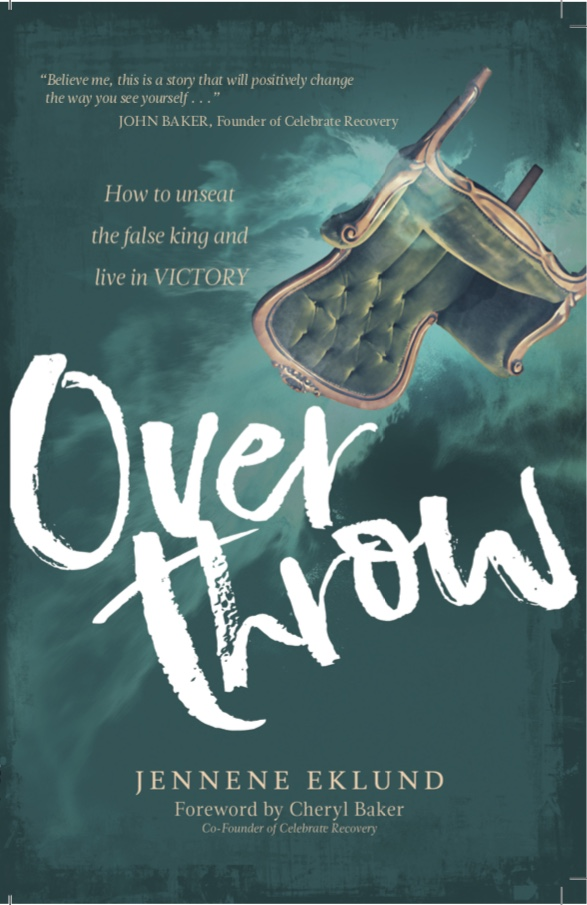 Overthrow - This book wrestles with concepts that require soul searching honesty: Could I be happy if I never lost another pound or could never alter my physical appearance in any way? Who defines what happiness is? What does God have to say about food and our physical bodies? Using my twenty year struggle with eating disorders as a backdrop, I endeavor to answer these questions and provide inspiration to view food and our bodies through a new perspective.